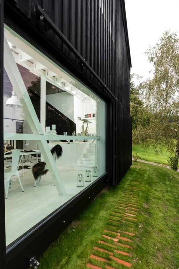 Interiér - Všude dobře, ve stodole nejlíp