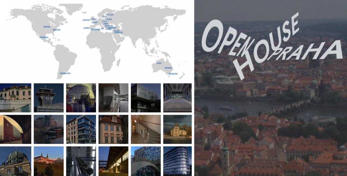 Open House Praha - festival otevřených dveří