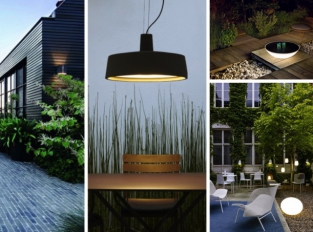 Designové svítění mimo čtyři stěny