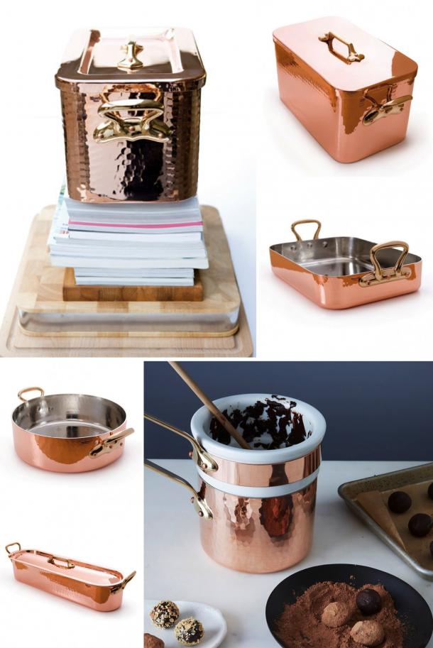 Kuchyň - Měď nad zlato