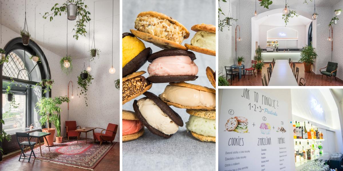 Parlor Café: zaměřeno na sladké detaily
