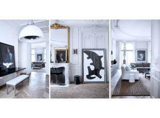 Pařížský byt architektů Patricka Gillese a Dorothée Boissier