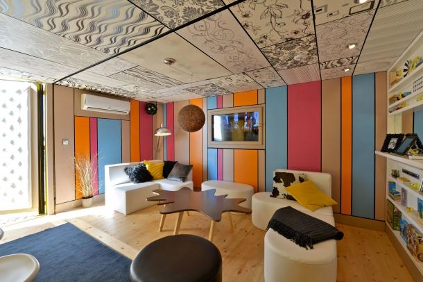 Události - Metaxa Partyhaus: obývací pokoj pro nevídanou party