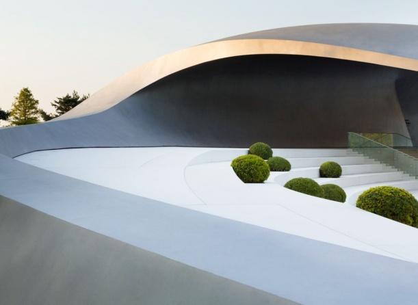 Kancelář - Porsche Pavilon ve Wolfsburgu