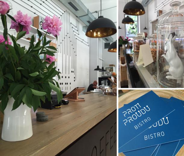 Bar / restaurace / café - Proti Proudu: Bistro, kde to jiskří