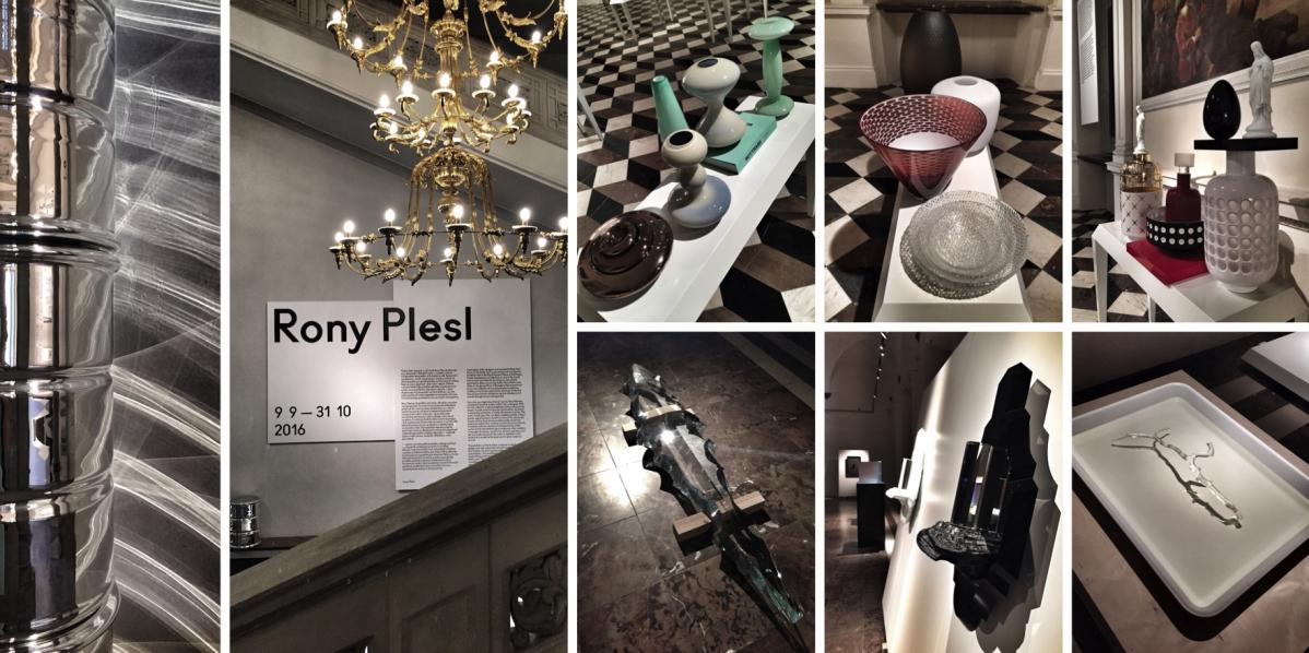 Retrospektiva Ronyho Plesla: Jak renesanční Belvedér potkal současné sklo