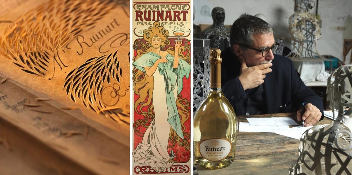 Šampaňské Ruinart: Múza světových umělců