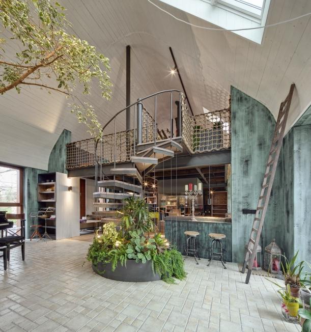 Interiér - Z nudné kanceláře organickou džunglí odpočinku