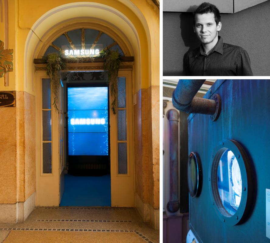 Vojtěch Geryk pro Samsung: Podmořské dobrodružství v secesním hotelu
