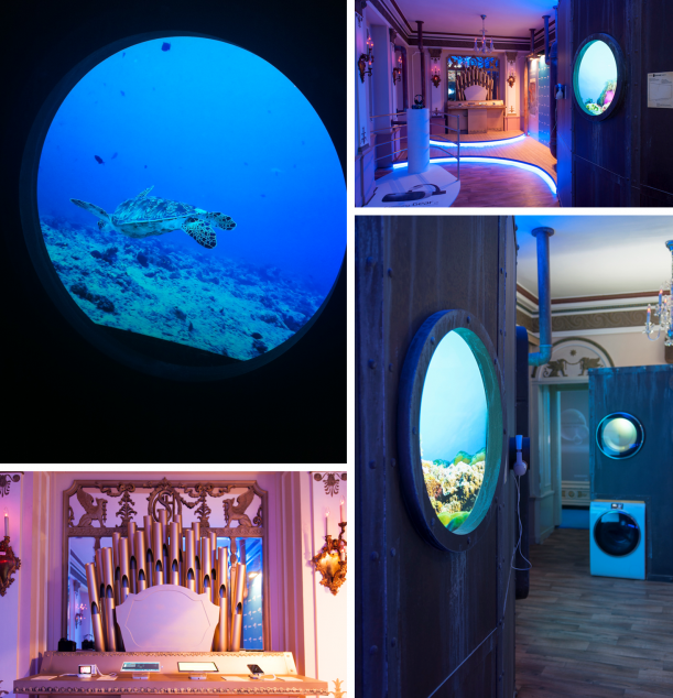 Architekt - Vojtěch Geryk pro Samsung: Podmořské dobrodružství v secesním hotelu