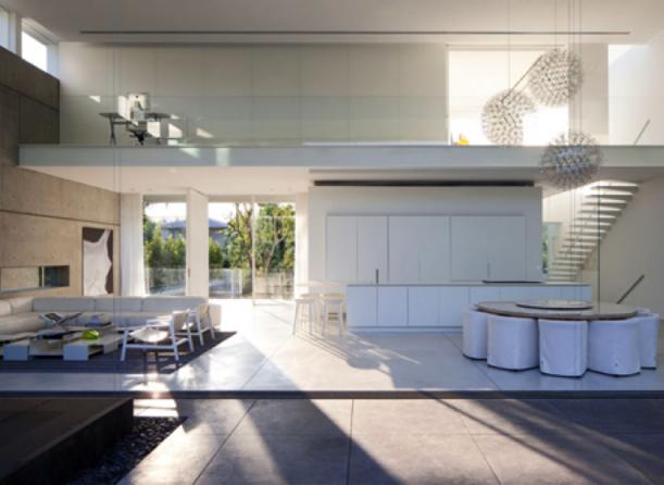 Rezidenční projekty - Bazén až do obýváku