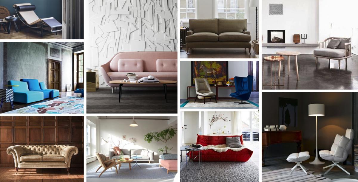 Sedací nábytek: Mezi londýnskou mlhou a radikálními formami
