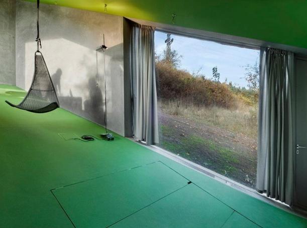 Interiér - Bydlení na šikmé ploše