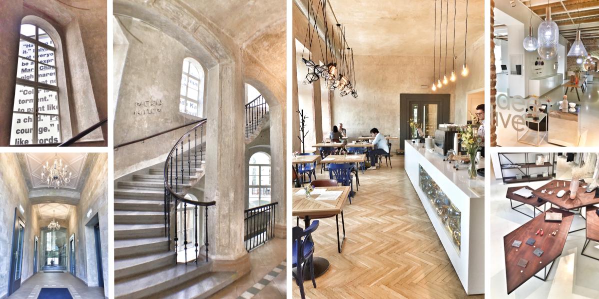 Obchod, galerie, kavárna. SmetanaQ je činžák plný designu