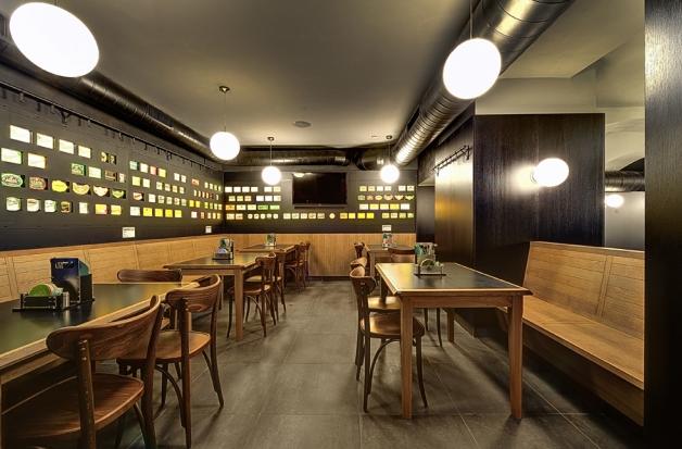 Bar / restaurace / café - Volby ve Vinohradském parlamentu