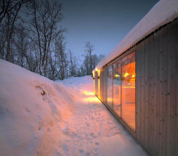 Rezidenční projekty - Nenápadná chata v březovém háji