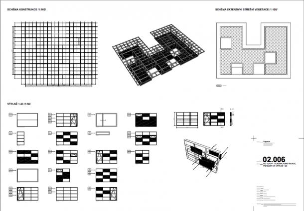 Exteriér - Nenápadná hra s přírodou ateliéru Hipposdesign