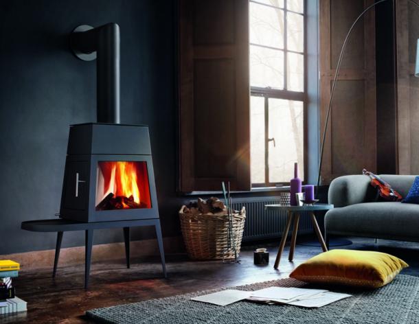 Inspirace - Skantherm: Designová krbová kamna jako funkční šperk domova