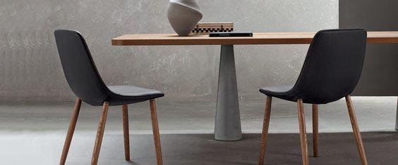 Still - stůl s příjemně kontrastními materiály | puntodesign.cz