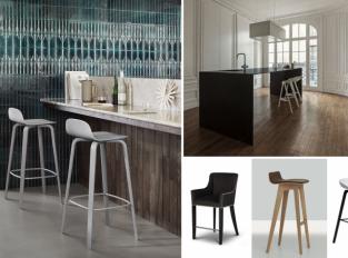 Od trubky až k balerínkám, aneb osvobozené tvary kuchyňských stoliček