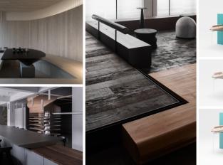 Studio Jiangjiu Architecture navrhlo kanceláře inspirované lesem