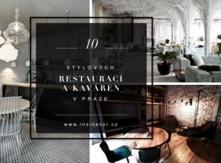 10 stylových restaurací a kaváren v Praze