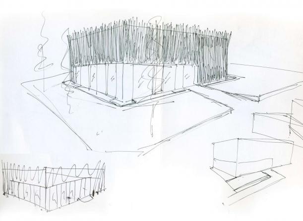Další - Travnatá skrýš designu
