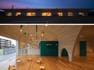Japonská školka od Archivision Hirotani připomíná jednu velkou prolézačku