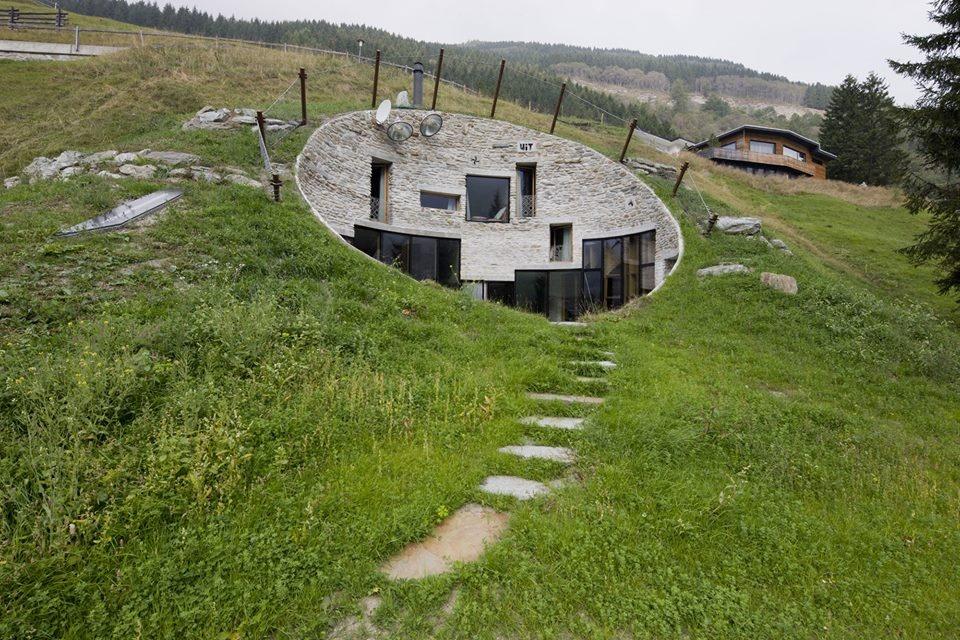 Vila v lázních Vals