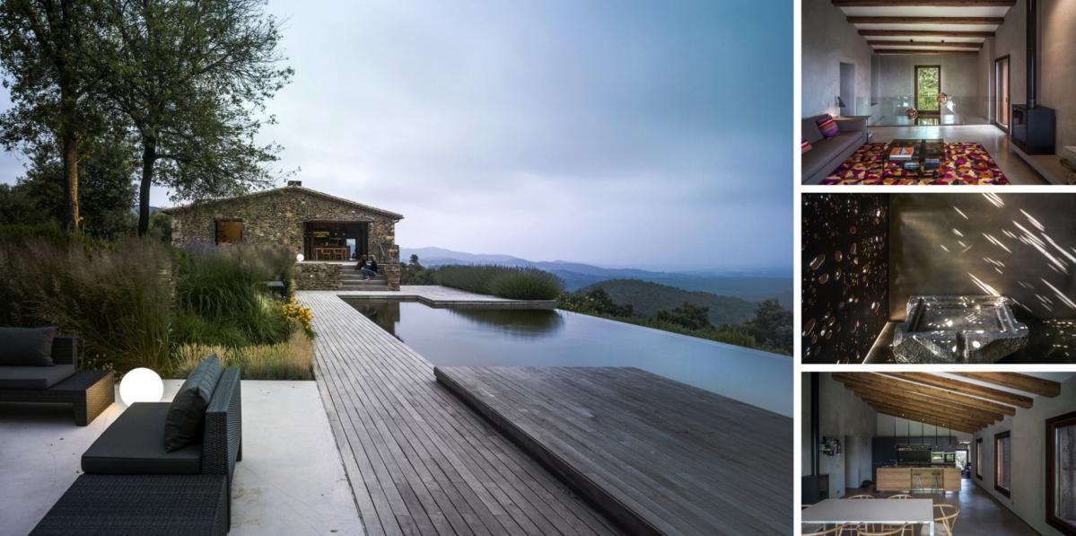 Rekonstrukce farmářského domu přináší elegantní propojení starého a nového