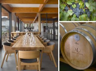 Vinařství Michlovský představilo nový degustační bar