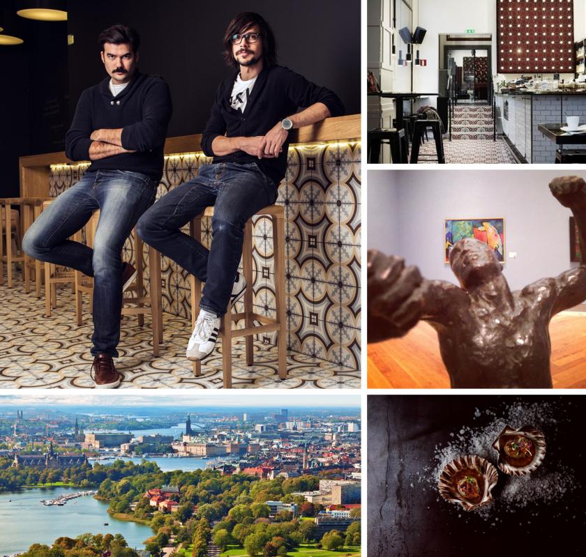 Vrtiška-Žák jako průvodci Stockholmem