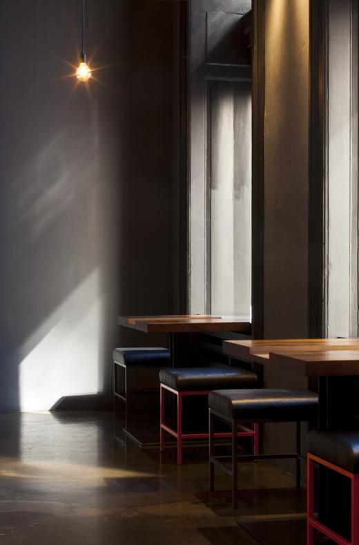 Bar / restaurace / café - V zajetí plamenů