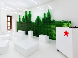 Heineken refreshment bar