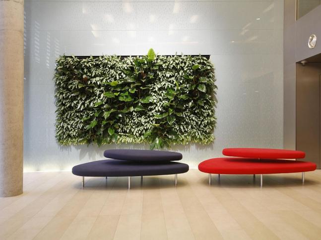 Vertikální zahrady - haly