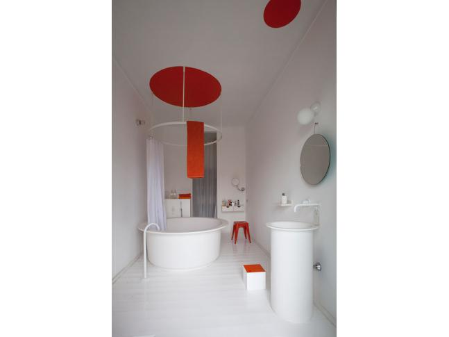 Koupelny v residenci v Nice od Agape