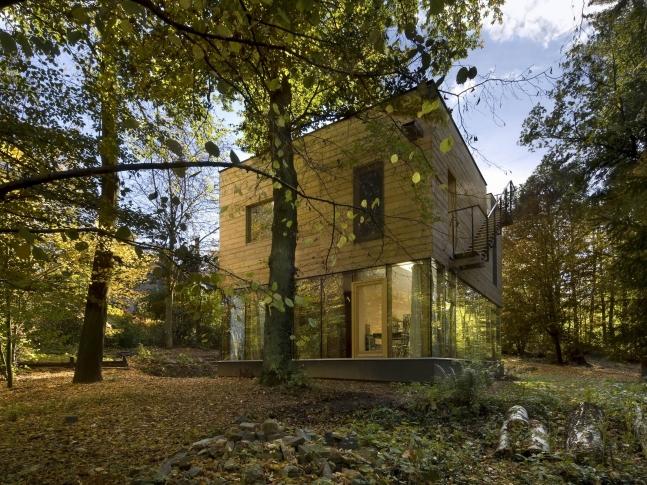 Dřevěný dům, Střední Čechy 01 RD seno