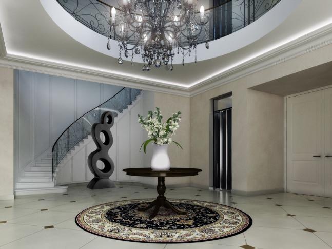 Villa Schweiger - hala