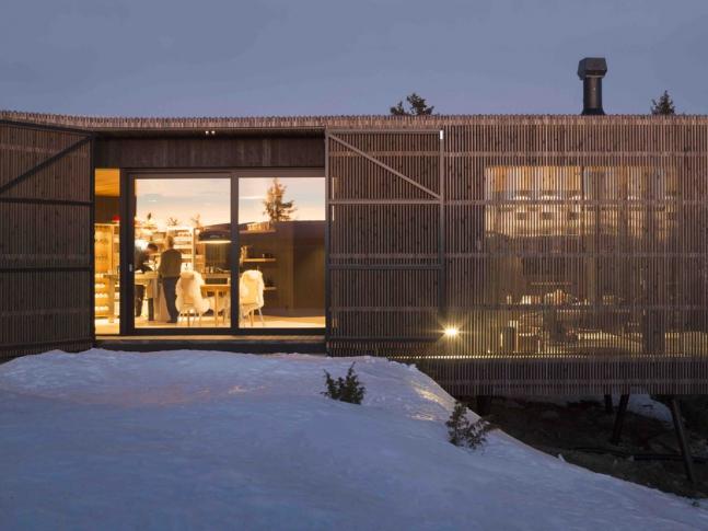 Cabin Kvitfjell - exteriér