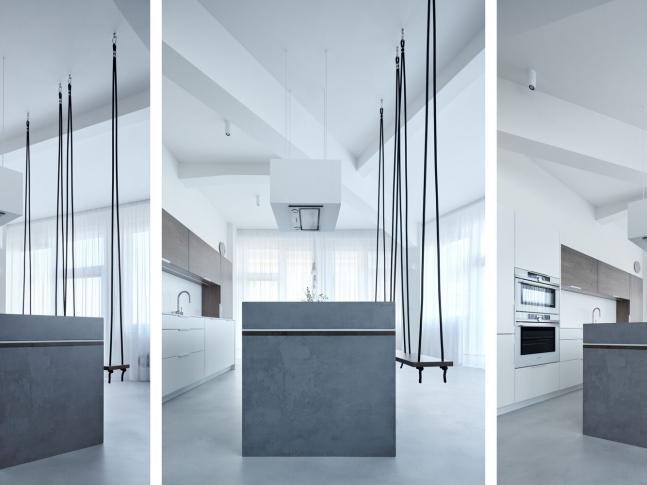 Designová stěrka jako podlaha do kuchyně