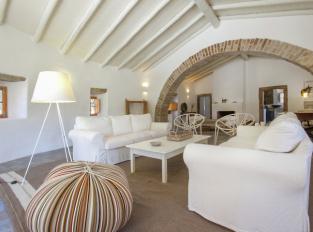 Obývací pokoj v Casa Caiadas