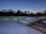 Terasa s bazénem v Casas Caiadas