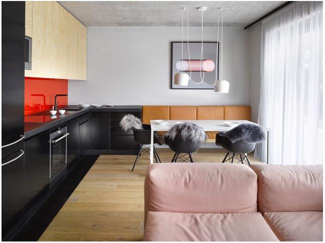 Prázdninový byt - obývací pokoj