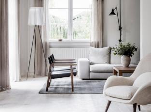 Fredericia House - obývací část