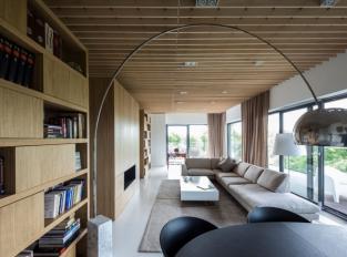 Apartmán Poznaň - obývací pokoj