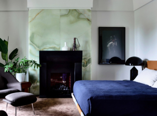 Dům v Melbourne - ložnice