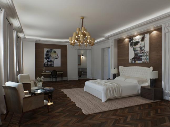 Villa Schweiger - ložnice Villa Schweiger - ložnice