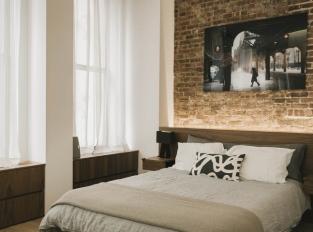 Greenwich Village Loft - ložnice