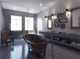 Villa Schweiger - koupelna