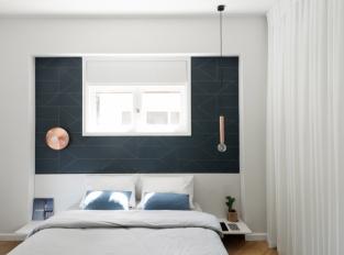 Bauhaus v Tel Avivu - ložnice